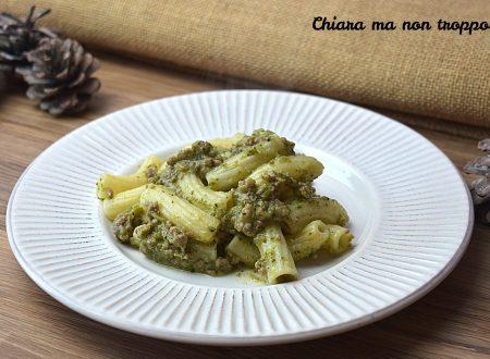 Pasta al ragù di broccoli e salsiccia