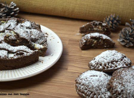 Crostata al cacao con crema alla ricotta