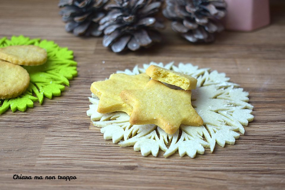 Biscotti al burro ricetta facile