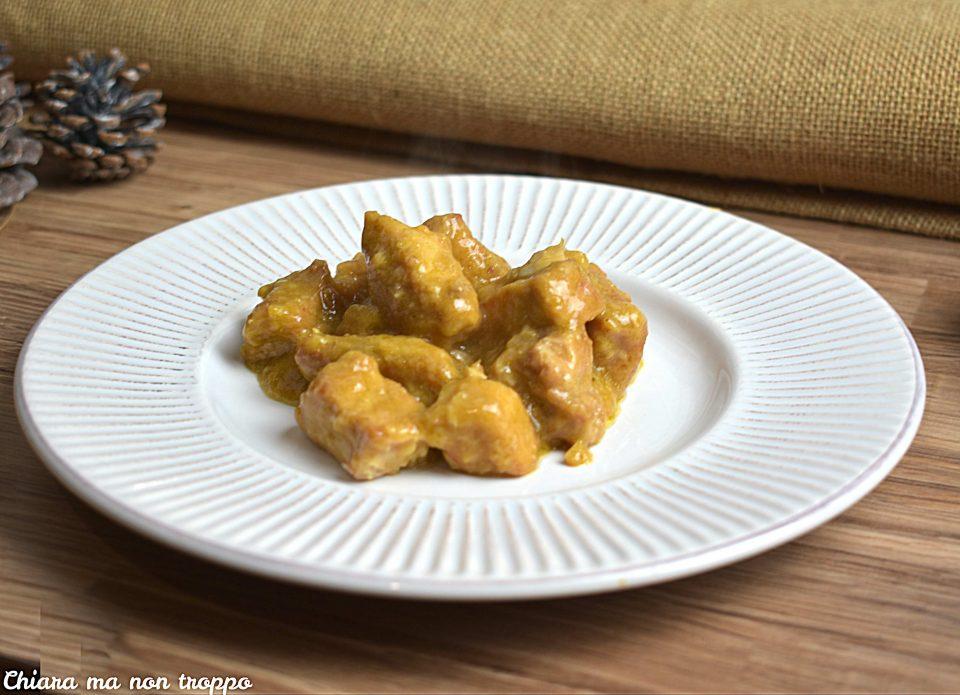 Spezzatino al curry cremoso