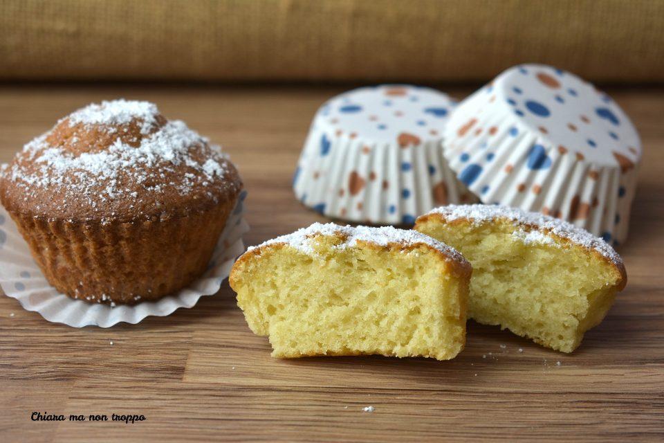 Muffin allo yogurt senza lievito