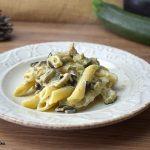 Pasta melanzane zucchine ephiladelphia