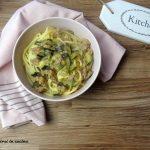 Bucatini con zucchine e salsiccia