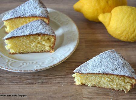 Torta 7 vasetti allo yogurt al limone