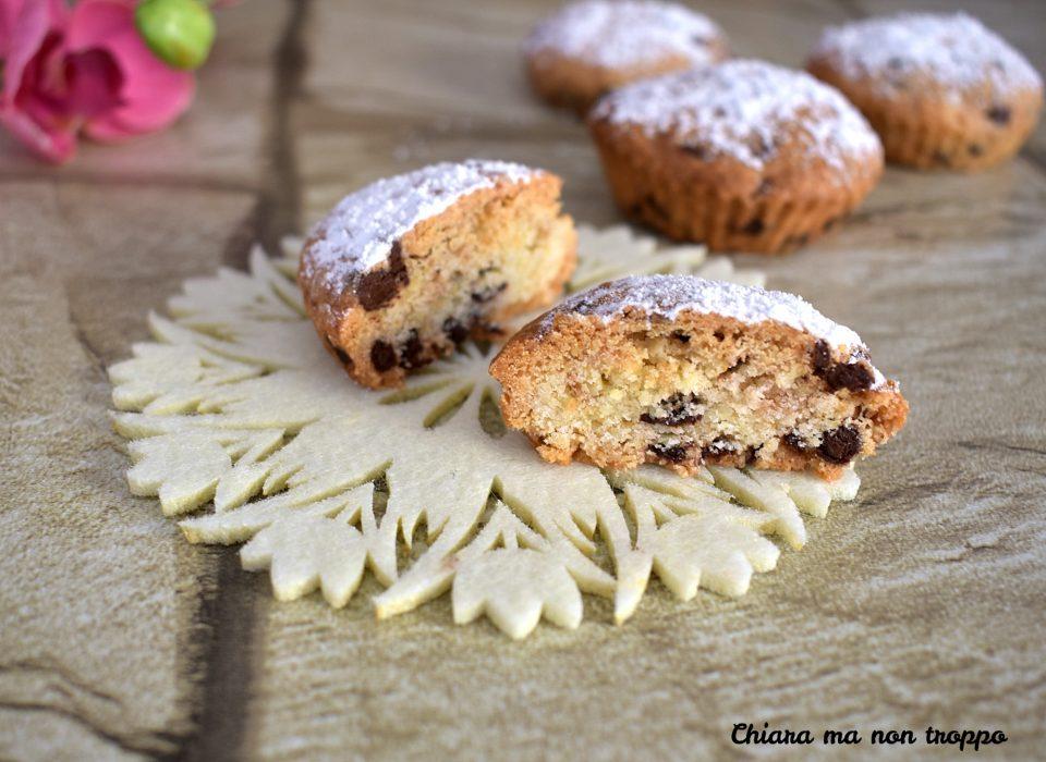 Muffin di pasta frolla