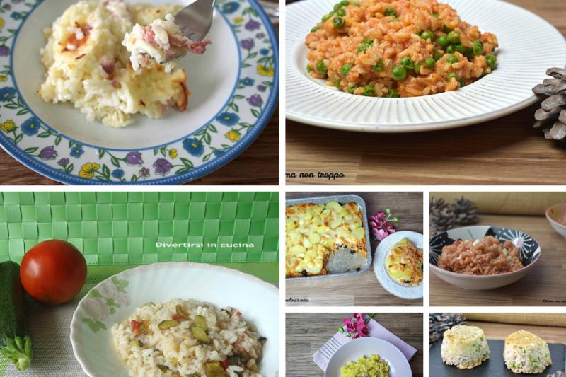 10 ricette veloci con il riso