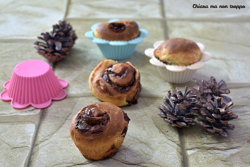 Muffin di pan brioche alla Nutella