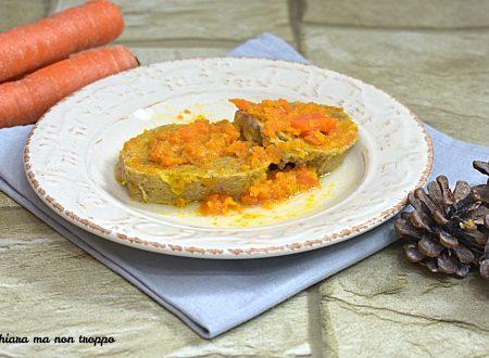 Polpettone in salsa di carote Bimby