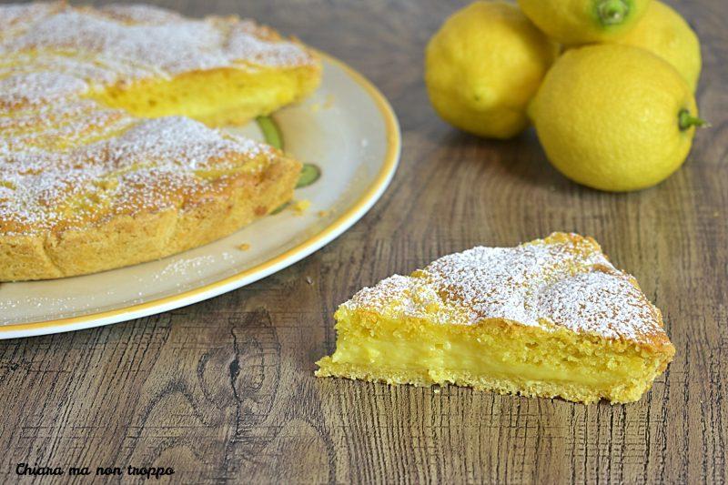 Torta tre strati al limone