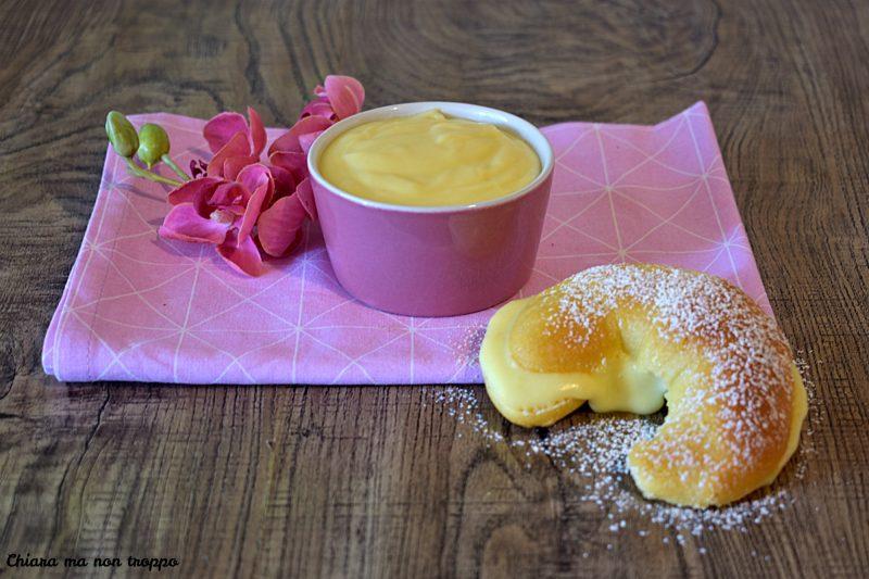 Crema pasticcera leggera al limone