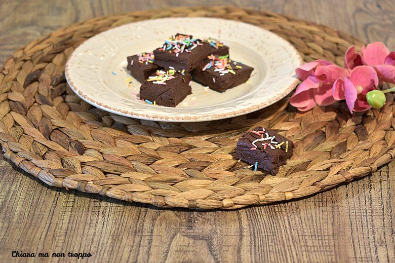 Fudge al cioccolato a modo mio