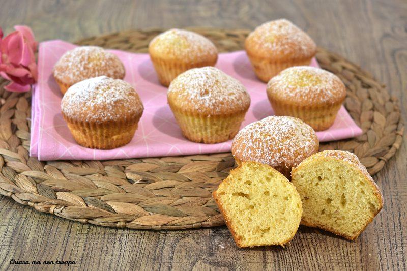 Muffin light ricetta facile e veloce