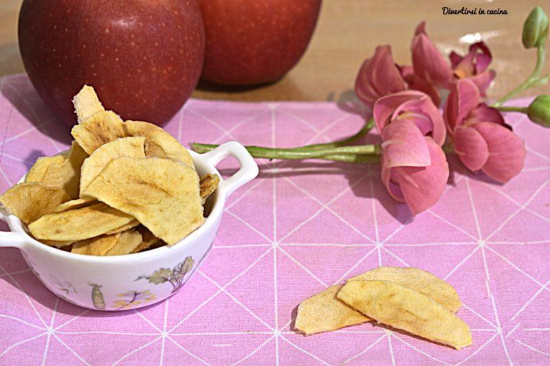 Patatine di mele
