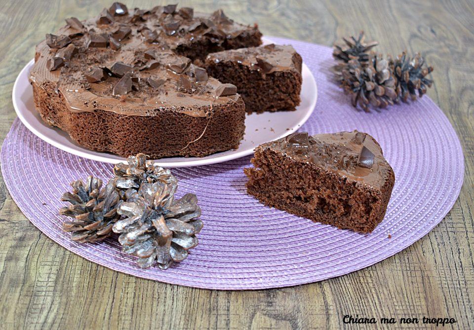 Torta latte cioccolato e Nutella