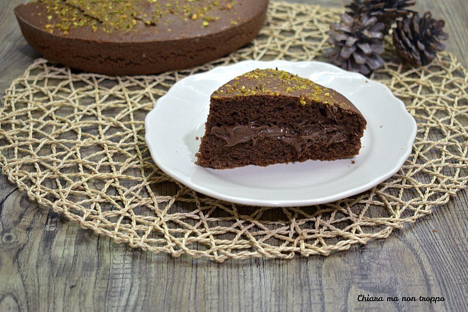 Torta pistacchi e Nutella