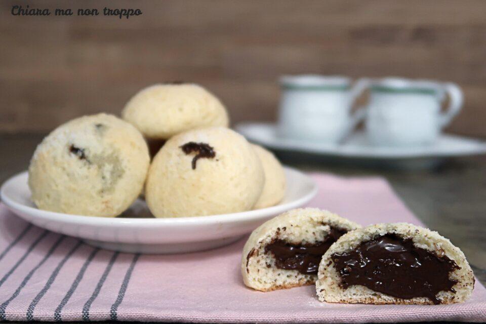 Biscotti allo yogurt e Nutella