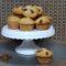 Muffin con Philadelphia e mandorle