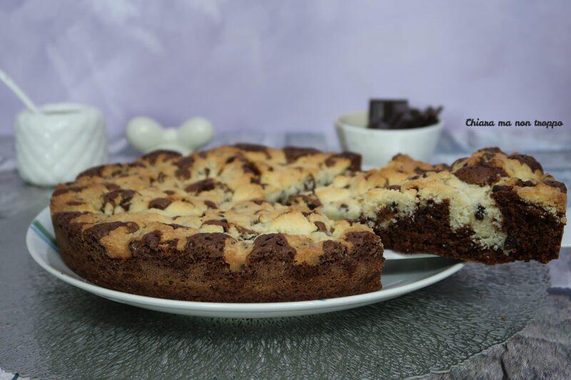 Torta brownie cookie