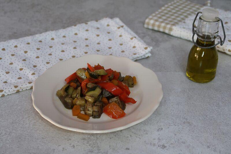 Contorno di verdure estive