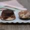 Mini cheesecake variegate alla Nutella