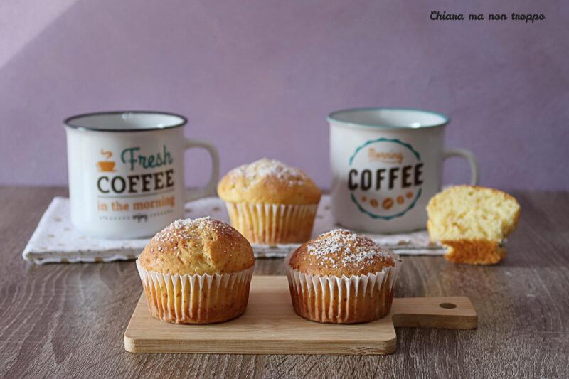 Muffin yogurt e ricotta