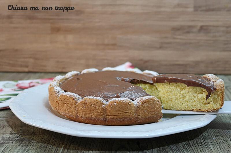 Torta semplice con la Nutella