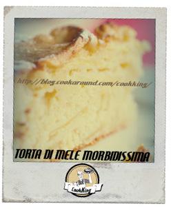 TORTA DI MELE MORBIDISSIMA1- CookKING