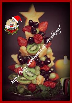 fruit christmans tree - CookKING