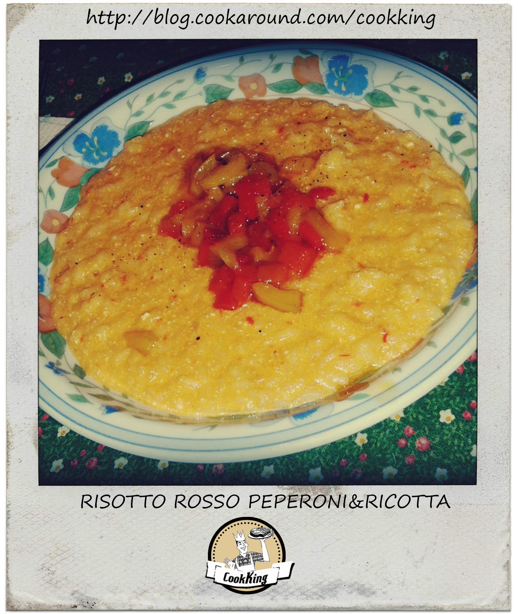 risotto rosso peperoni&ricotta