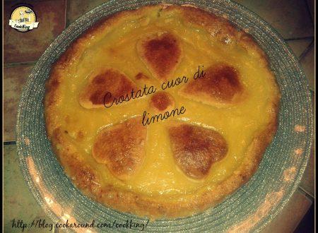 Crostata cuor di limone