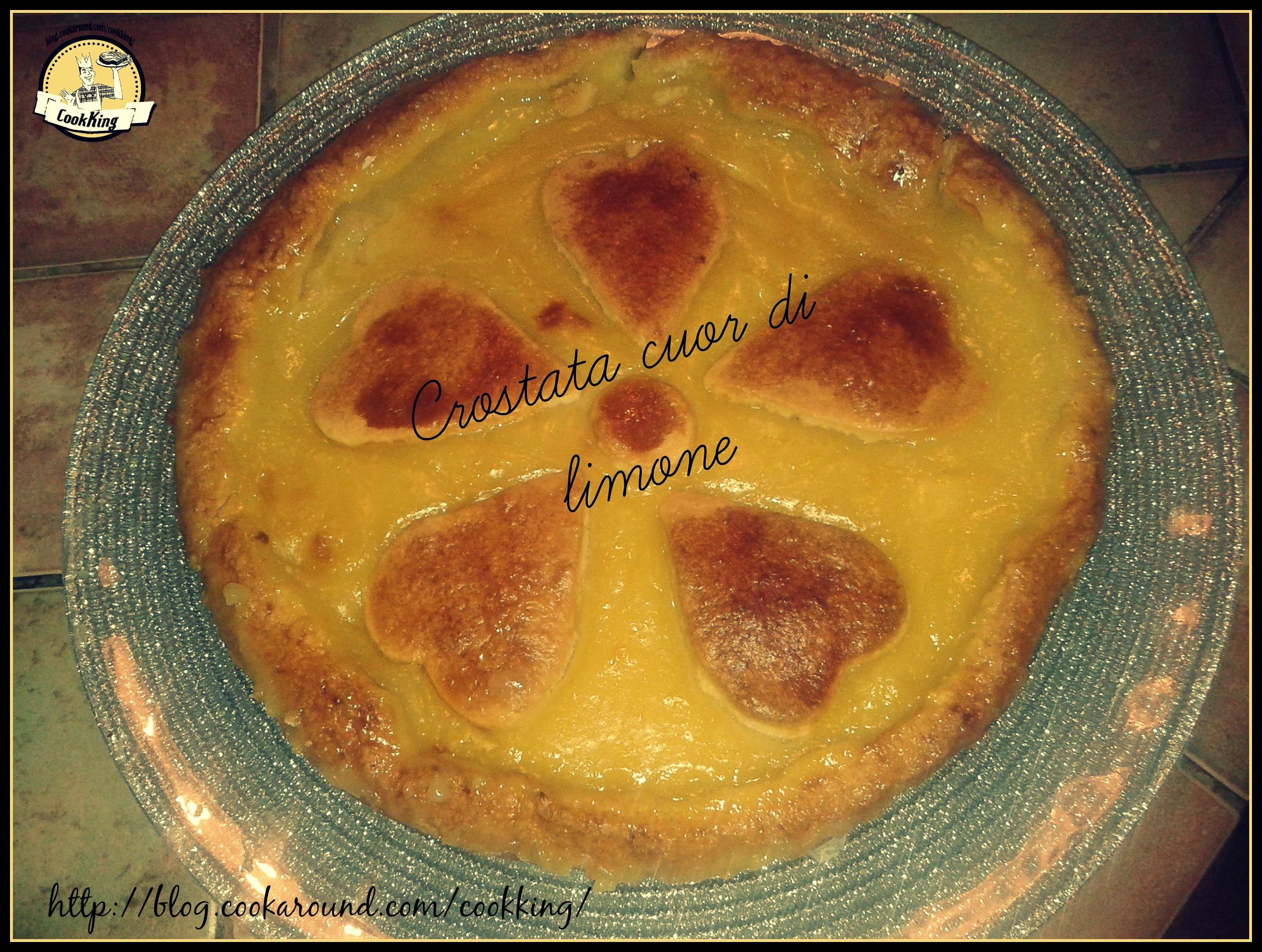 CROSTATA CUOR DI LIMONE - CookKING