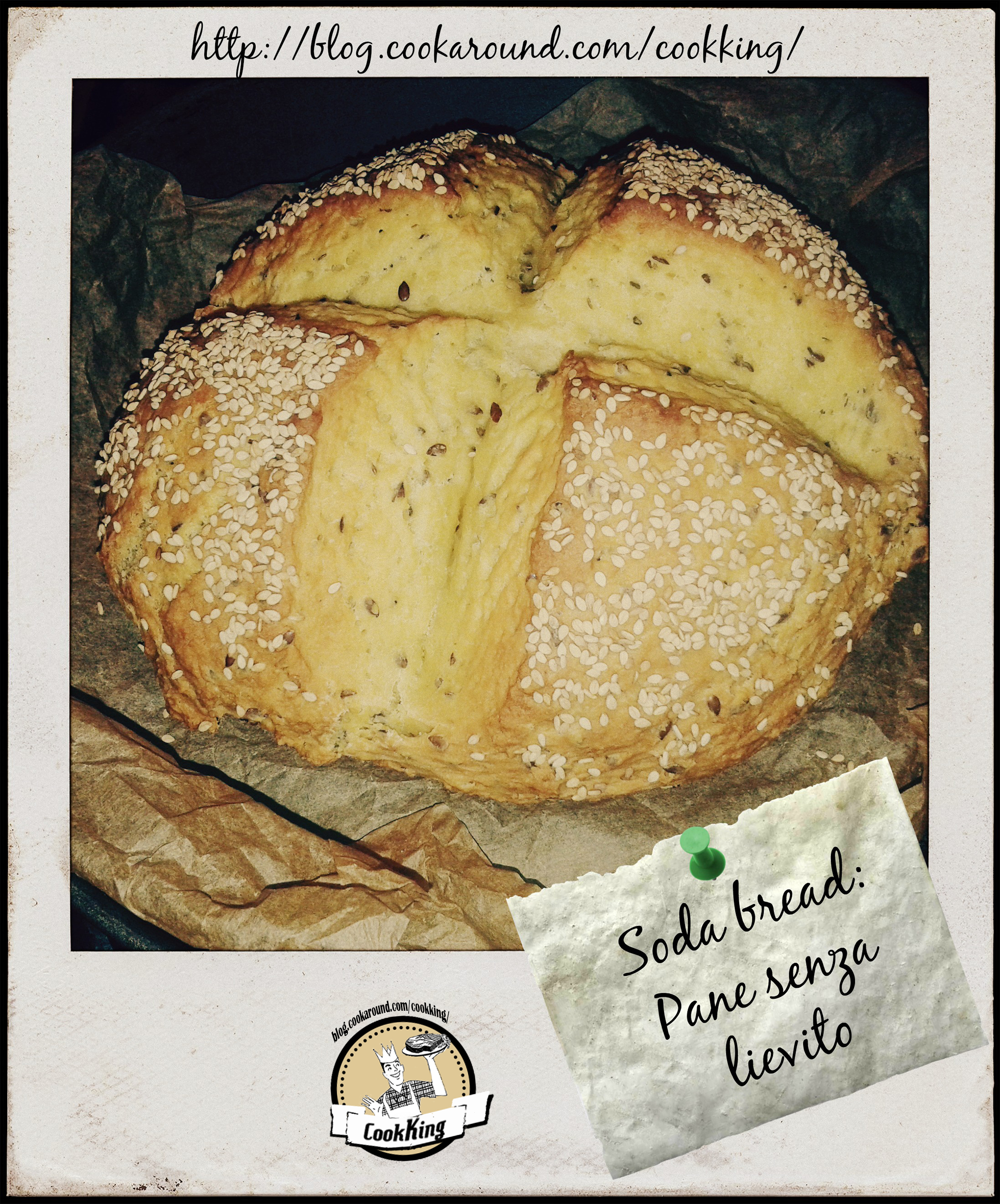 Soda Bread, pane senza lievito - CookKing