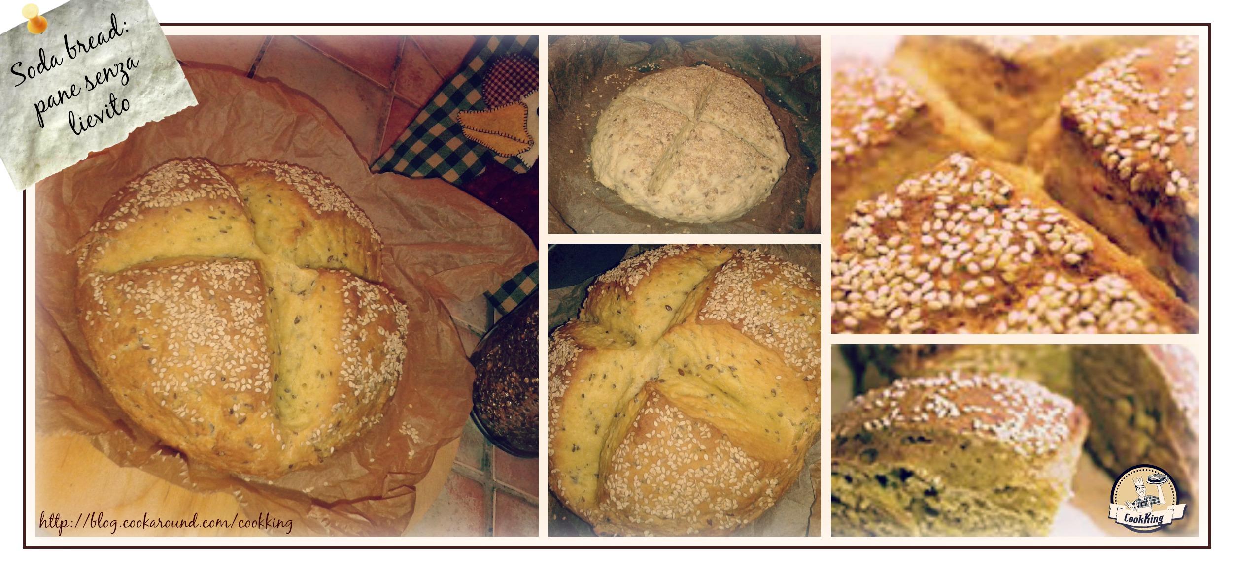 soda bread- Pane di kamut  senza lievito mix - CookKING