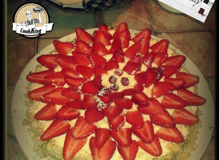 Torta Fragole e Crema Chantilly