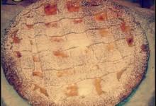 Crostata con crema pasticcera al profumo di vaniglia