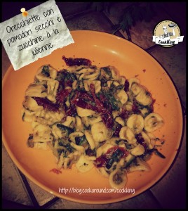 Orecchiette con pomodori secchi e zucchine à la julienne - CookKING