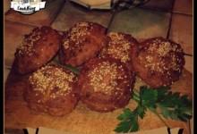 Panini semintegrali senza lievito all'olio di oliva e semi di sesamo