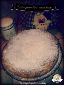Torta Paradiso senza burro - CookKING