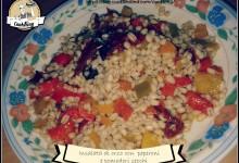 Insalata di Orzo con Peperoni e Pomodori secchi