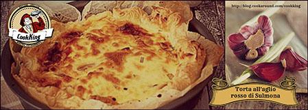 torta all'aglio rosso di sulmona - CookKING
