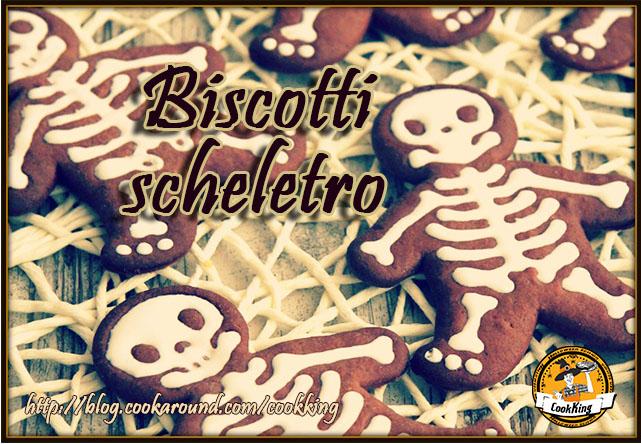 Biscotti scheletro - CookKING