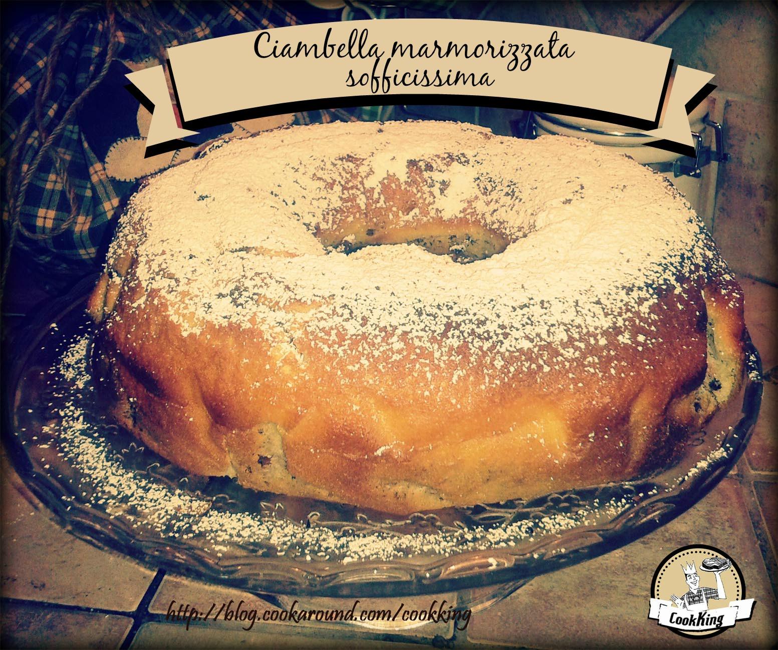 CIAMBELLA MARMORIZZATA SOFFICISSIMA - CookKING