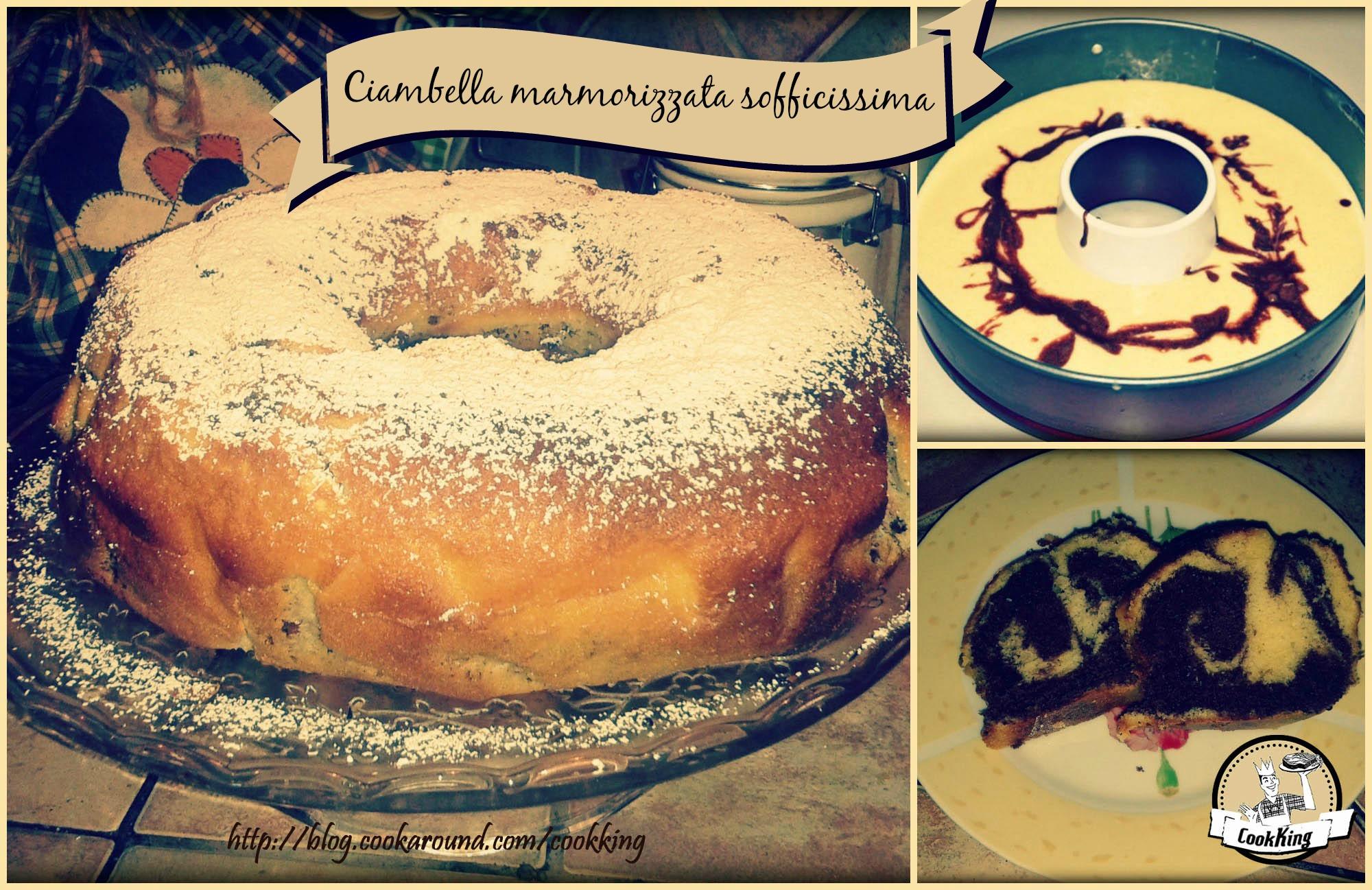 CIAMBELLA MARMORIZZATA SOFFICISSIMA (mix) - CookKING
