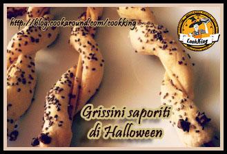 Grissini saporiti per Halloween - CookKing