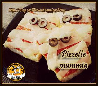 Pizzette mummia- CookKING