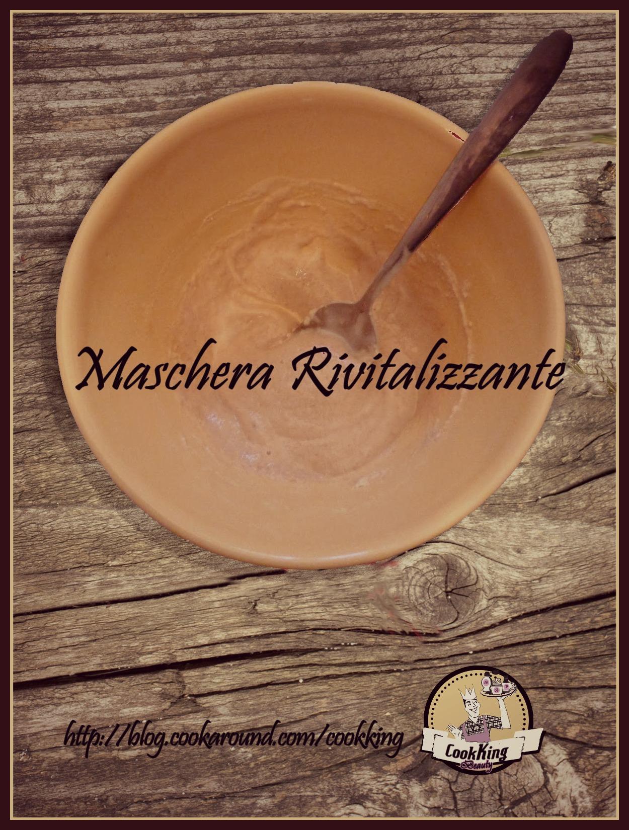 MASCHERA RIVITALIZZANTE - CookKing