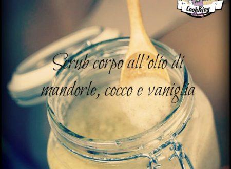 Scrub corpo all'olio di mandorle, cocco e vaniglia
