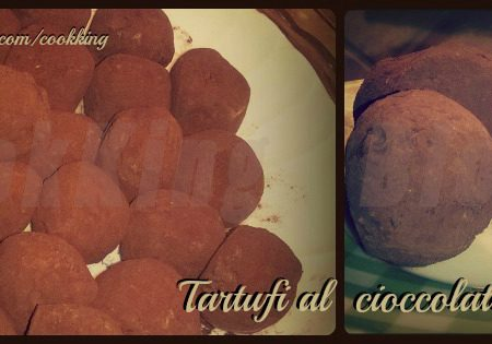 Tartufi al cioccolato e nocciole