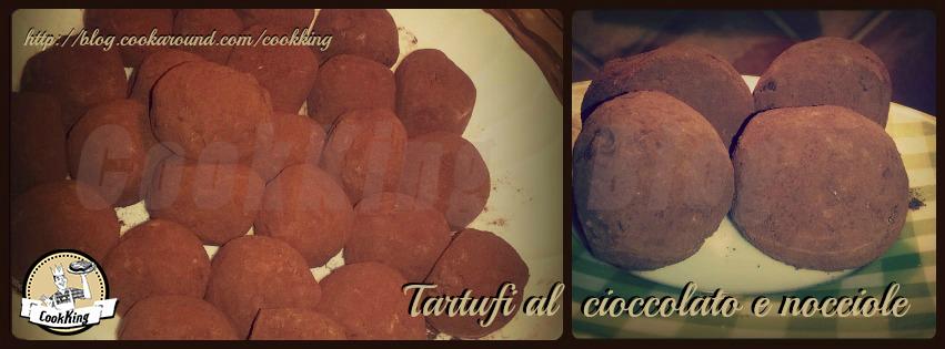 Tartufi al cioccolato e nocciole 3- CookKing