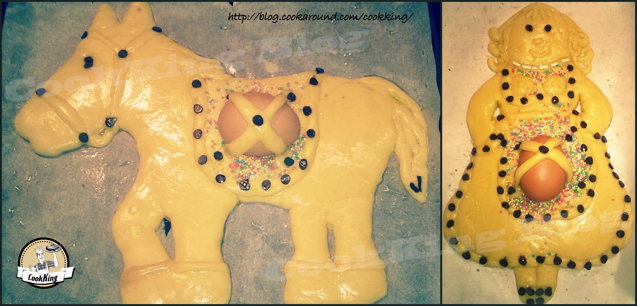 La Pupa ed il Cavallo: dolci pasquali abruzzesi